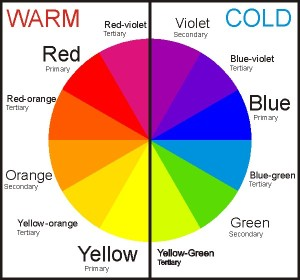 Warm/Cool Colour Wheel